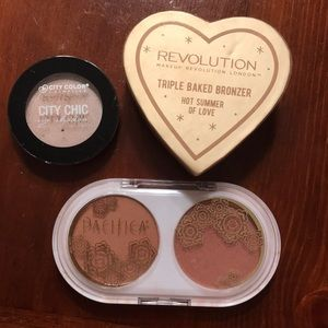 Pacifica/Makeup Revolution/City Chic bundle